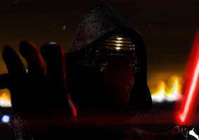 Kylo Ren Star Wars The Force Awakens by Anakinuchiha94
