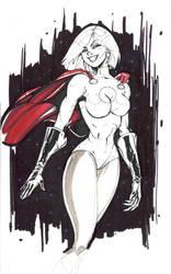 Power girl by pokar17