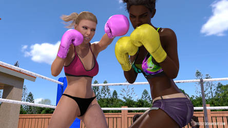 BBL (Lauren vs Naomi) - 09 by ffists7
