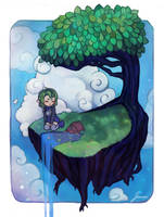 Crystal Explorers on Tree Island by jemajema