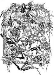 Angelus VS Angela by cizgi-reloaded