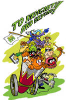 Muppets Adventure by Smigliano