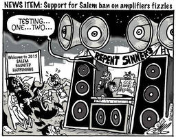Salem News: Amplifier Ban Fizzles by Smigliano