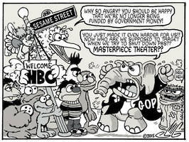 Sesame Street to HBO: The Reprecussions by Smigliano