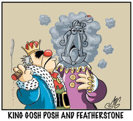 King Gosh Posh and Featherstone by Smigliano