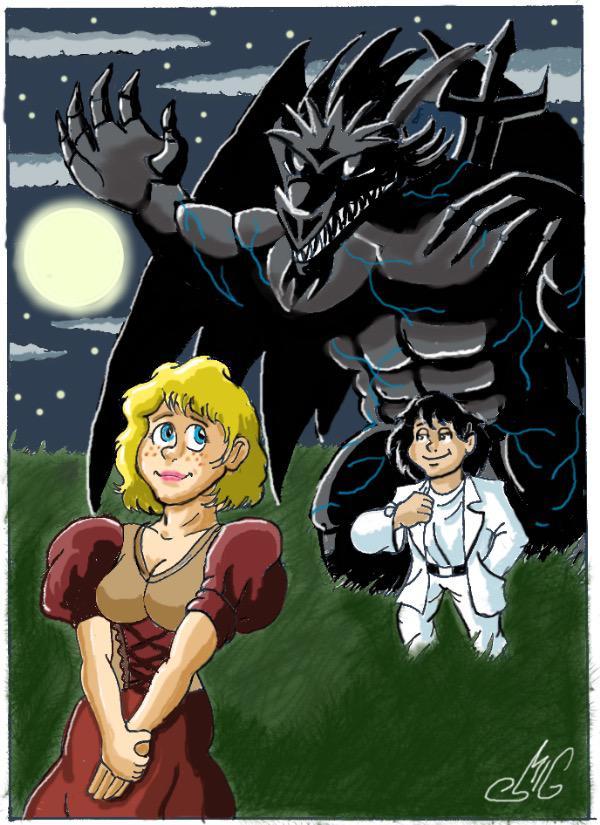 The Black Dragon Knight by Smigliano