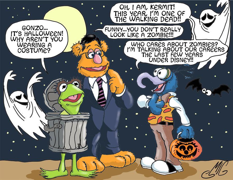 Muppet Halloween by Smigliano