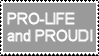 Pro-Life Stamp by AnnaTheDorkQueen