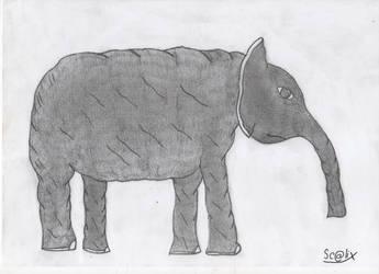 Elephant by scalixcz