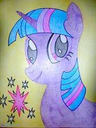 Twilight Sparkle - Portrait by scalixcz