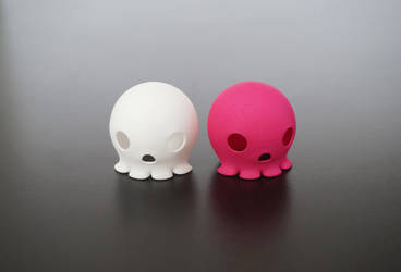 Octoskull toy 03 by JLP3D