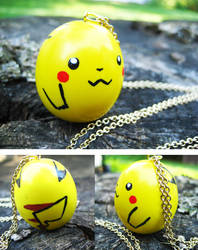 Pikachu Egg by lava-tomato