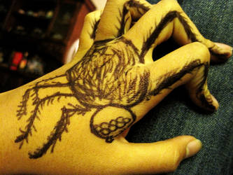 Spider hand, spider hand by lava-tomato