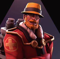[SFM\TF2] Goldfinch's Medic Icon *Request* by ThSpooks