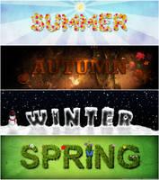 The Four Seasons by TehAngelsCry