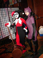 Harley and Catwoman: Partners by Enasni-V
