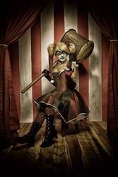 Gotham City Circus - Harley Quinn by Enasni-V