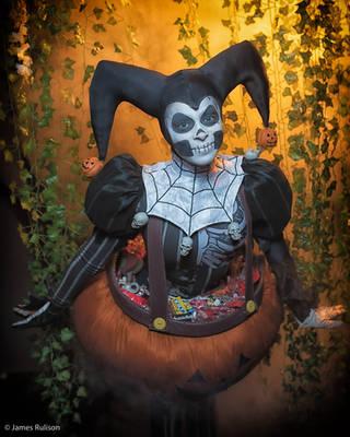 Halloween Harley Quinn - Artist Abe by Enasni-V
