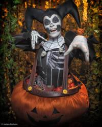 Halloween Harley Quinn - Boo! by Enasni-V