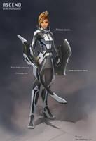 CyberpunkKnight by CaconymDesign