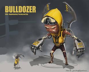 Bulldozer by CaconymDesign