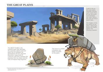 WorldNote: Great Plains by CaconymDesign