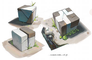 CompanionCubes by CaconymDesign