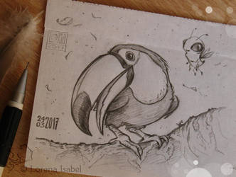 # 16 - Toco Toucan - by Loisa