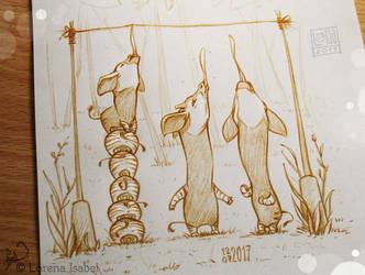 Day 12 - Okapi - by Loisa