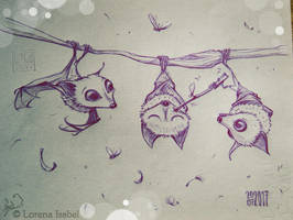 Day 17 - Flying Fox - by Loisa