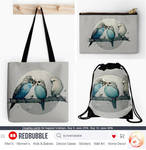 Parakeets bags by Loisa