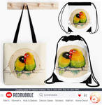 Agapornis bags by Loisa