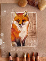 22 -  Red Fox by Loisa