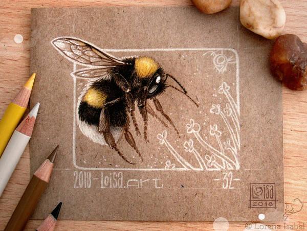 32 - Bumblebee - by Loisa