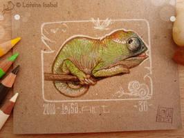 36 - Chameleon - by Loisa