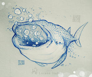 Bubble Tester Whale Shark by Loisa
