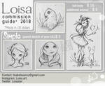 commission2018 Simple prices by Loisa