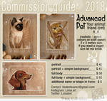 commission2018 AdvancedPet prices by Loisa