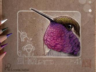 49 - Hummingbird by Loisa