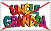 Anti Uncle Grandpa Stamp by Timscorpion
