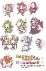 LoL - Heso champ! by tunako
