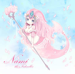 Spring Nami by tunako