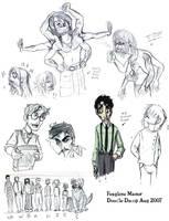 Foxglove Manor Doodle Dump 1 by Bilious