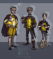 Night Watch: Vimes study by Bilious