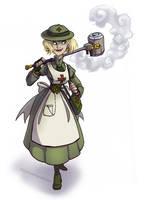 Commission: Steampunk Felixie by Bilious