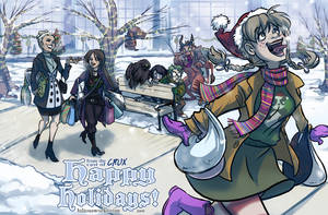 Crux: Happy Holidays 09 by Bilious