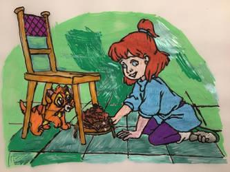 One Shy Little Kitten by PurpleBeauty97