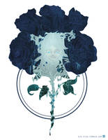blue roses by ono-mono