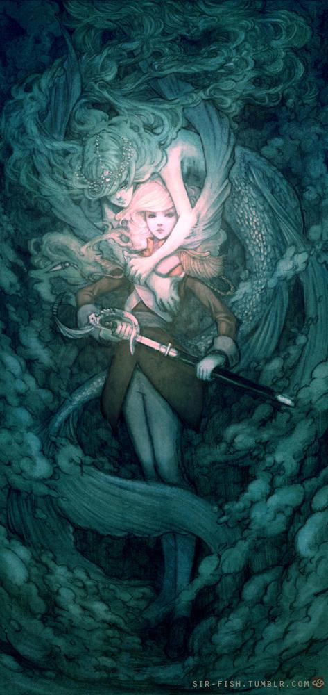 mermaid by ono-mono