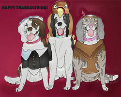 Happy Thanksgiving! by Waggintails-Rescue